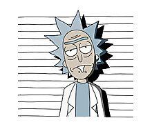 Rick and Morty T-shirt - funny shirt  Photographic Print