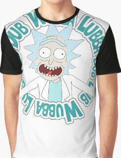 Rick and Morty T-shirt - Funny Wuaba shirt  Graphic T-Shirt
