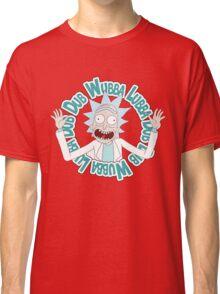 Rick and Morty T-shirt - Funny Wuaba shirt  Classic T-Shirt