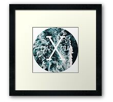 Waves; Hipster by Fauxpia Framed Print