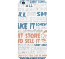 Rick and Morty T-shirt - Get your shirt  iPhone Case/Skin