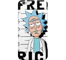Rick and Morty T-shirt - Funny Free Rick  iPhone Case/Skin