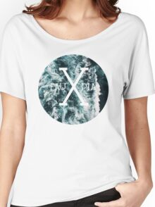 Waves; Hipster by Fauxpia Women's Relaxed Fit T-Shirt