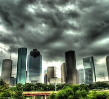 Houston Skyline by mkbabcock62