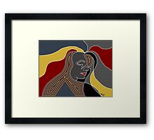 Blood Gold Framed Print