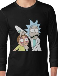 Rick and Morty T-shirt - get your funny shirt  Long Sleeve T-Shirt