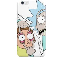 Rick and Morty T-shirt - get your funny shirt  iPhone Case/Skin