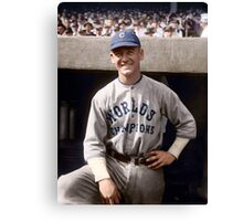 George Burns, Cleveland Indians 1921 Canvas Print