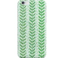 Leaf seamless  transparent pattern. Nature  fresh  background. iPhone Case/Skin