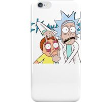 Rick and Morty T-shirt - funny shirt Morty and Rick  iPhone Case/Skin