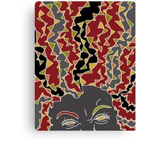 Tangy Angry Gold Canvas Print