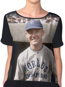 George Burns, Cleveland Indians 1921 Chiffon Top