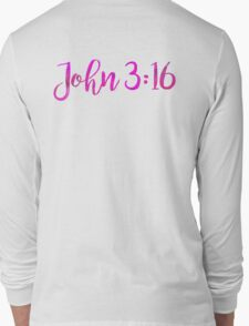 Bible Verse Long Sleeve T-Shirt