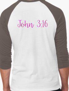 Bible Verse Men's Baseball ¾ T-Shirt