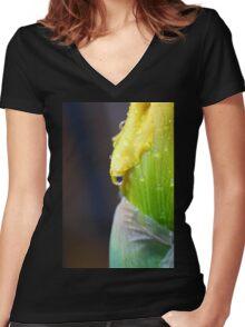 Emergent Energy Women's Fitted V-Neck T-Shirt