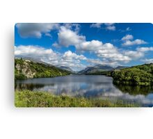 Lake Padarn Canvas Print