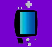 GameBoy Advance Flat by Violentsofa