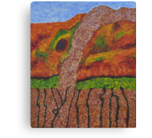 021 Abstract Landscape Canvas Print