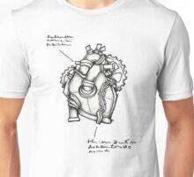 Iron Heart Concept Sketch Unisex T-Shirt