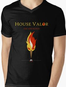 House Valor Mens V-Neck T-Shirt