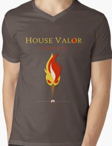House Valor Mens V-Neck T-Shirt