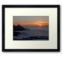 Swansea Lighthouse Framed Print