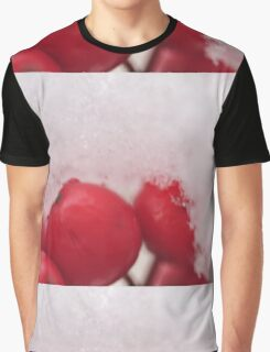 Berries in the Snow, As Is Graphic T-Shirt
