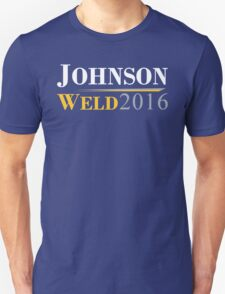 Gary Johnson - Bill Weld 2016 Campaign Logo Unisex T-Shirt