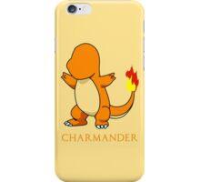 Charmander Outline iPhone Case/Skin
