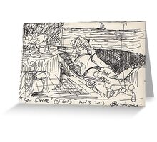 SPY GAME(STUDY)(INK PEN)(2) (C2013) Greeting Card