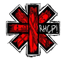Red Hot Chili Peppers - RHCP Photographic Print