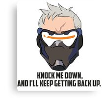 Overwatch - Soldier 76 Canvas Print