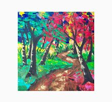 Whimsical Woods Abstract Unisex T-Shirt