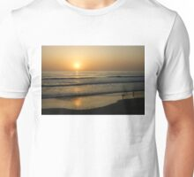 California Surfing Sunset - Pacific Beach, San Diego, California Unisex T-Shirt