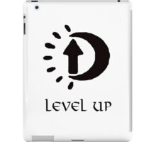 Oblivion Level Up II iPad Case/Skin