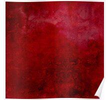Flowering YON Red Poster