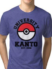 Poke University Tri-blend T-Shirt