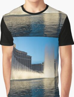 Crescendo - the Glorious Fountains at Bellagio, Las Vegas Graphic T-Shirt