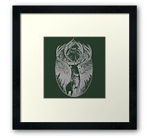 Antler Series 0001 - Malicemalignant clothing Framed Print