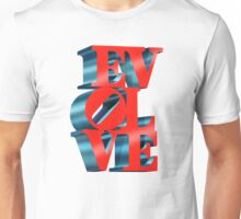 EVOLVE (Custom background) Unisex T-Shirt