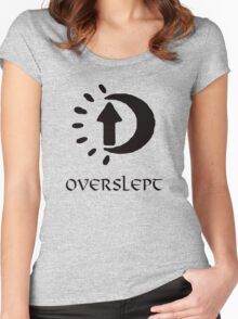 Sleep in Oblivion Women's Fitted Scoop T-Shirt