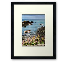Bull Bay Boats Framed Print