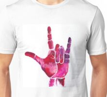 ASL I Love You Hand Unisex T-Shirt
