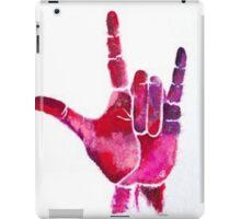 ASL I Love You Hand iPad Case/Skin