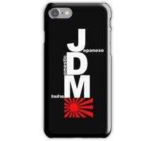 JDM Rising Sun (1) iPhone Case/Skin