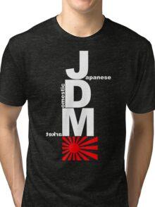 JDM Rising Sun (1) Tri-blend T-Shirt