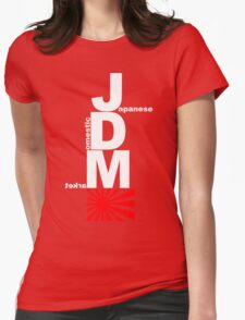 JDM Rising Sun (1) Womens Fitted T-Shirt
