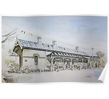 Forbes Railway Station Poster