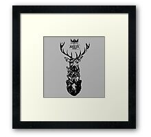 Antler Series 0002 - Malicemalignant clothing Framed Print