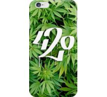 420 leafs iPhone Case/Skin
